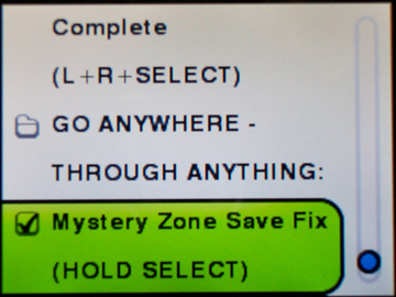 AR - Mystery Zone Fix