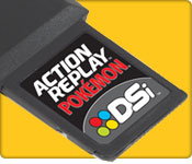 DSi Action Replay Ultimate Cheats for Pokemon EF000972