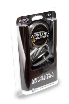 Bluetooth Wireless Headset for PS3