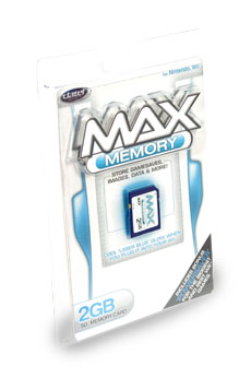 MAX Memory SD Card 2GB for Wii