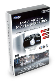 MAX Media Manager Pro for PS3