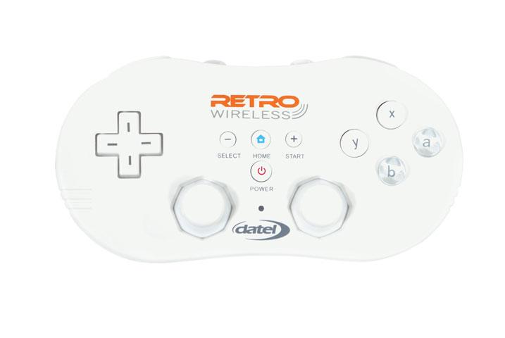 wii wireless retro controller